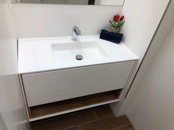 Reforma de un baño pequeño en Zaragoza